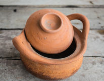 Clay pot pottery Royalty Free Stock Photography