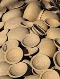 Clay pot Thai style handmad Stock Image