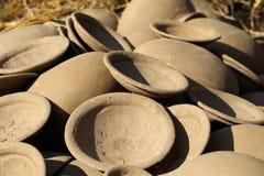Clay pot Thai style handmad Stock Photography
