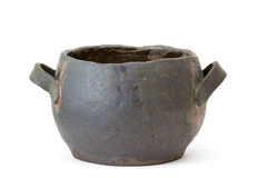 Clay pot on Royalty Free Stock Image