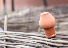Clay pot Stock Photography