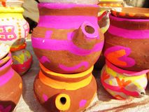 Clay pots Stock Image