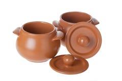 Clay pots Stock Image