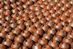 Clay pots Royalty Free Stock Photography