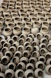 Clay Pots. Group of Indian Traditional Clay Pots Stock Photography