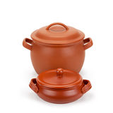 Clay pots Stock Photography