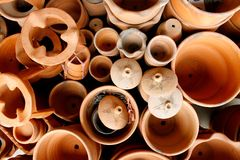 Clay pottery Royalty Free Stock Photography
