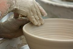 Clay Pottery Royalty Free Stock Images