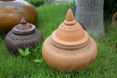 Clay Pottery Arkivfoton