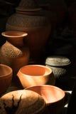 Clay pottery art Stock Photos