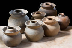 Clay pottery ceramics Royalty Free Stock Image