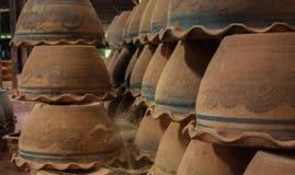 Clay pottery Royalty Free Stock Image