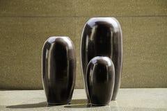 Clay pottery ceramics Stock Images