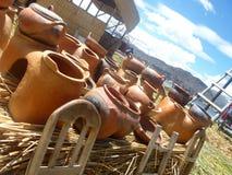 Clay pottery Stock Photography