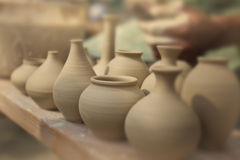 Clay pottery Royalty Free Stock Image