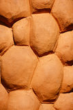 Clay pottery texture background. Stock Photos