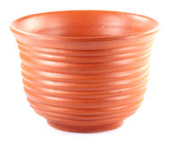 Clay pottery used as flower vase Royalty Free Stock Images