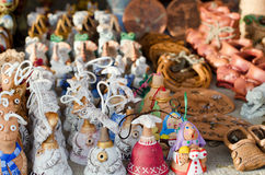 Clay products - national crafts. Belarus Royalty Free Stock Photos