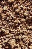 Clay red agriculture textured soil Royalty Free Stock Photos