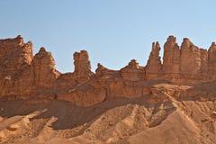 Clay rocks Stock Photo