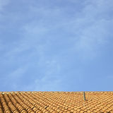 Clay roof Royalty Free Stock Images