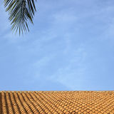 Clay roof Royalty Free Stock Photo