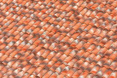 Clay roof background Royalty Free Stock Image