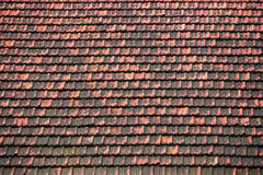 Clay roof background texture Royalty Free Stock Images