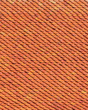 Clay roof texture. Roof tiles close up detail Royalty Free Stock Images