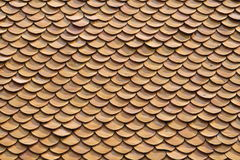 Clay roof texture. Roof tiles close up detail Royalty Free Stock Photos