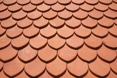clay roof texture Stock Photography