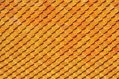Clay roof tile Royalty Free Stock Images