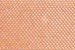Clay roof tile background or texture and copy space. stock photo