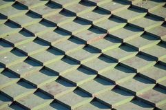 Clay Roof Tiles Arkivfoto