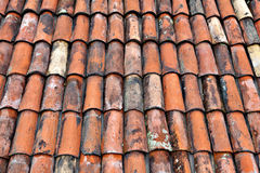 Clay Roof tiles Stock Photos