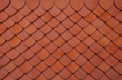 Clay roof tiles Thai Royalty Free Stock Photo