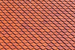 Clay roof tiles of Thai temple Royalty Free Stock Images