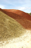 Clay Rubble Hills Stock Image