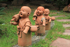 Clay sculpture Royalty Free Stock Image