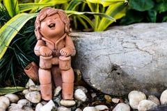 Clay Sculpture Images libres de droits