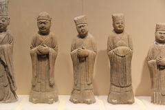 Clay sculpture china Royalty Free Stock Images