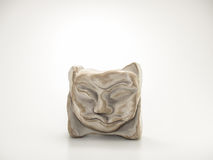 Clay Sculpture sur le fond blanc Photographie stock libre de droits