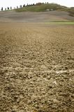 Clay soil field Royalty Free Stock Photography
