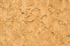 Clay soil texture background, dried surface Royalty Free Stock Photography