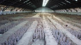 Clay soldiers of the Terracota Army