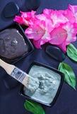 Clay for spa Stock Photos