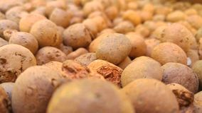 Clay Stones Balls Royalty Free Stock Photography