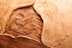 clay struktury tło Obraz Royalty Free