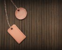 Clay tag Stock Image
