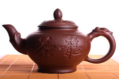 Clay teapot Royalty Free Stock Photo